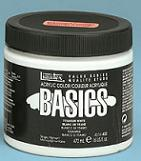 Basics Acrylic Colors 16oz. (473ml) jars