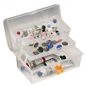 Small Plastic Art Tool Box