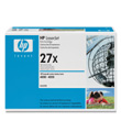 HP LaserJet Print Cartridge #27X (10,000 Yield)