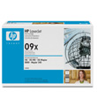 HP LaserJet Print Cartridge #09X (17,100 Yield)