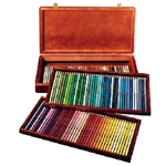 Winsor & Newton 120 Color Wood Box Set