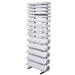 ALVIN® Open Wall Racks for High Capacity Rolled Blueprint Storage
