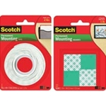 Scotch® Mounting Squares #111 16/cd
