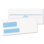 QUALITY PARK #9 Double Window Security Tinted Envelopes 500/box