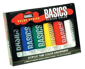 LIQUITEX Basics Tube Set