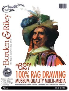 #627 100% Rag Drawing Paper