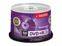 DVD+R 4.7GB 16X Branded Government Series (50/Spindle)