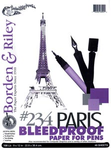 #234 Paris Bleedproof Paper for Pens