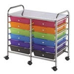 STORAGE CART 12 DWR MULTICOLOR