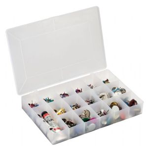 Medium Plastic Organizer Box