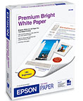 "EPSON Premium Bright White Paper for Two-Sided Printing 8.5"" x 11"" (500 sheets/pkg)"
