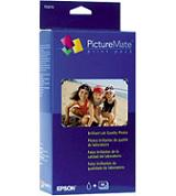 "Epson PictureMate Print Pack (Contains 1 Ink Cartridge, 100 Sheets of Glossy 4"" x 6"" Photo Paper)"