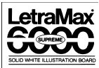 Bainbridge 6000 Supreme Solid White Illustration Board