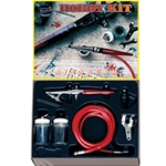 Paasche 2000H Single Action Hobby Kit Airbrush Set