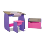Studio RTA Design Childrens Drawing/Drafting Table and Stool