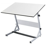 ALVIN® OPUS EQUUS DRAWING TABLE WHITE 30x42