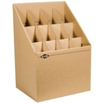 ALVIN® Upright Roll Files
