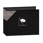 PIONEER® 12 x 12 D-Ring Fabric Scrapbooks