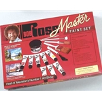 BOB ROSS Master Paint Set W/DVD