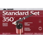 BADGER Model 350 Medium Line Airbrush Standard Set