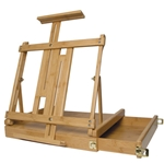 ART ALTERNATIVES Bamboo Ravenna Sketch Box Easel