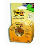 "3M Scotch® Post-It® Labeling & Cover-Up Tape 1"" x 700in."