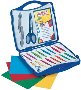 MAPED® Craft Scissors Set Chgble Blade