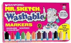 Mr. Sketch Washabale Markers