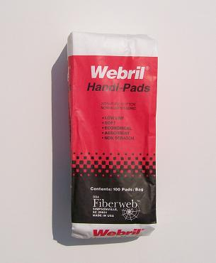 WEBRIL Handy Pads ON SALE, discount webril handi pads