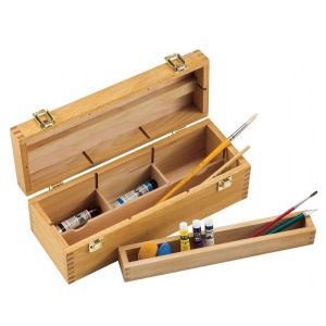 Small Wood Storage Box