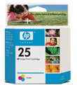 HP #25 Tri-Color Inkjet Print Cartridge (167 yield)