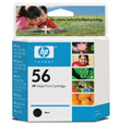 HP #56 Black InkJet Print Cartridge (450 Yield)