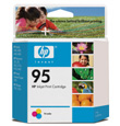 HP #95 Tri-Color InkJet Print Cartridge (260 Yield)