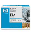 HP LaserJet  Print Cartridge #98A (6,800 Yield)
