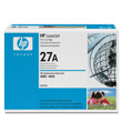 HP LaserJet Print Cartridge #27A (6,000 Yield)