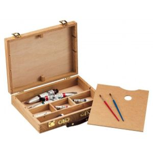 HERITAGE Wood Sketch Boxes with Palettes