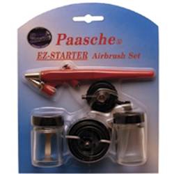Paasche EZ-STARTER Single Action Beginners Set, ez-starter airbrush set