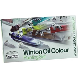 WINSOR & NEWTON Winton Oil Colour Painting Set