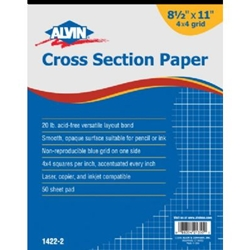 Alvin® Cross Section Paper