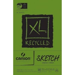 Canson® XL® Recycled Sketch Sheet Pad
