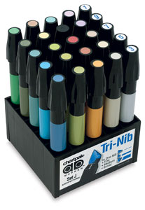 CHARTPAK® AD™ Marker Color Set 25/ARCHITECTURAL