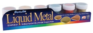 Metallic Poster Paint Set