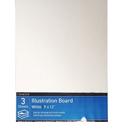 Crescent White X Board Mounting Board