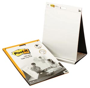 Post-It Self-stick Table Top Easel Pad