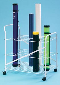 ALVIN® Roll File Cart