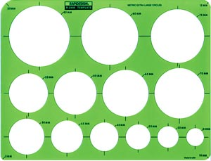 Metric Extra Large Circles