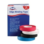 THREADED EDGING TAPE-WHITE