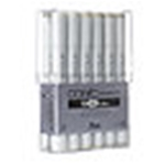 COPIC FINE/BRD 12PC WARM GRAY