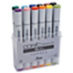 COPIC FINE/BRD 12PC BASIC