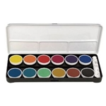 OPAQUE WATERCOLORS SET/12